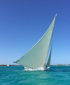 An A-class race boat