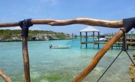 A dock at Little Farmer's Cay