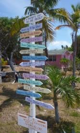 The main crossroads on Little Farmer's
