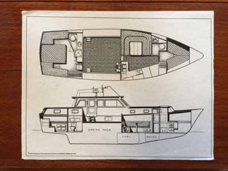 Original interior layout from Gulfstar