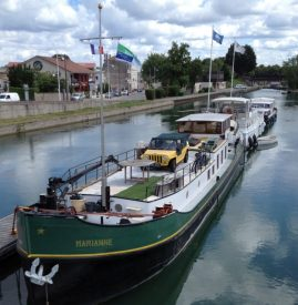 "The barge ""Marianne"" in Toul"