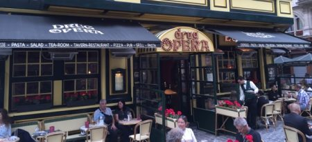 "There is a restaurant in Brussels called ""Drug Opera"""