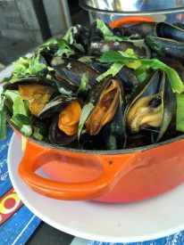 Moules-frites in Dinant