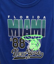 """Florida Miami '88 New York"""