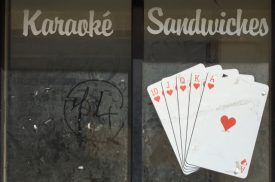 Karaoké, Sandwiches, and a Royal Flush