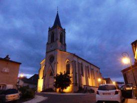A rural church near Toul