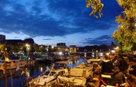 The Verdun waterfront before the fireworks