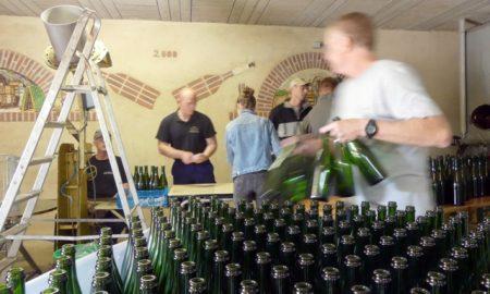 More bottling at Z-F Champagne