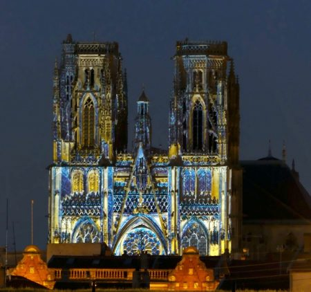 Toul Cathedral sound-and-light show