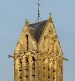 Church tower in Dormans