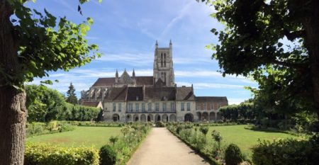 Cathedral and bishop's palace in Meaux