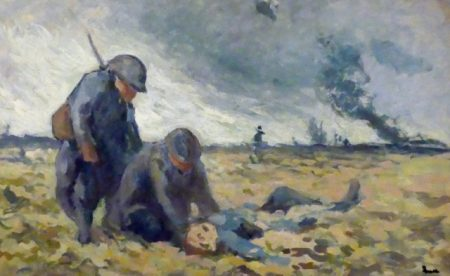 A soldier's painting from the Great War