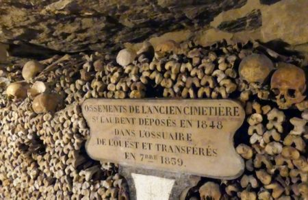 A few of the 6 million skeletons in the Catacombs