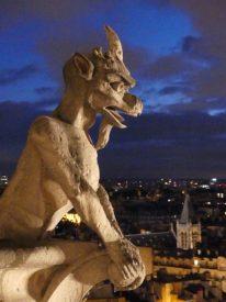 Gargoyle at Notre Dame