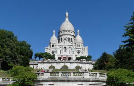 "The ""standard"" view of Sacre Coeur"