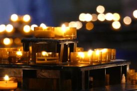 Candles in Sacre Coeur