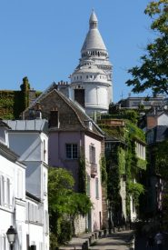 Non-standard view of Sacre Coeur
