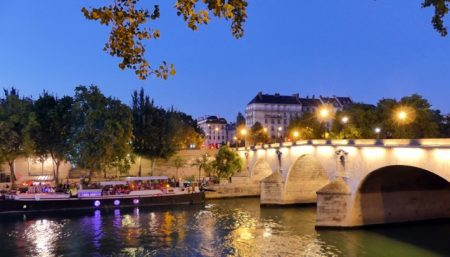 The Seine River in Paris