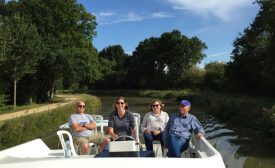 Cruising on the Nantes-Brest Canal