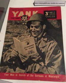 US Army magazine from WW II