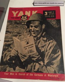 US Army magazine from WW II