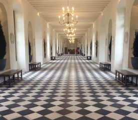 The great hall at Chenonceau