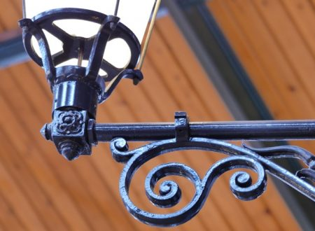 Some ironwork in the Sens market