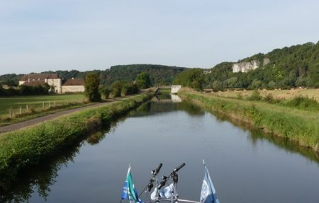 The Nivernais Canal near Clamecy