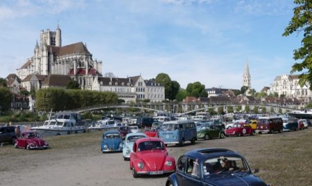Lots and lots of Volkswagens