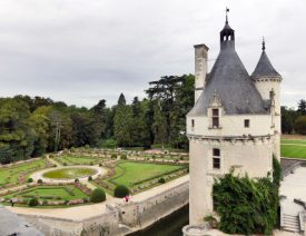 The gardens at Chenonceau