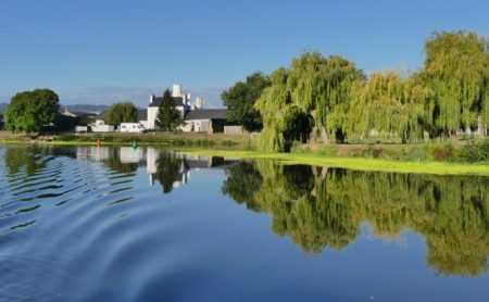 The Vilaine River in classic Brittany weather