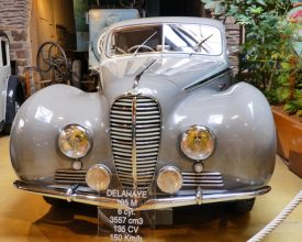 A Delahaye 135M from the 1930's