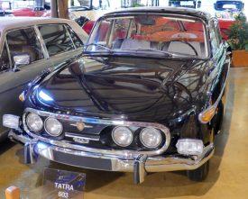 The Tatra 603 from Czechoslovakia