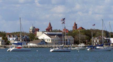Passing through St. Augustine, Florida